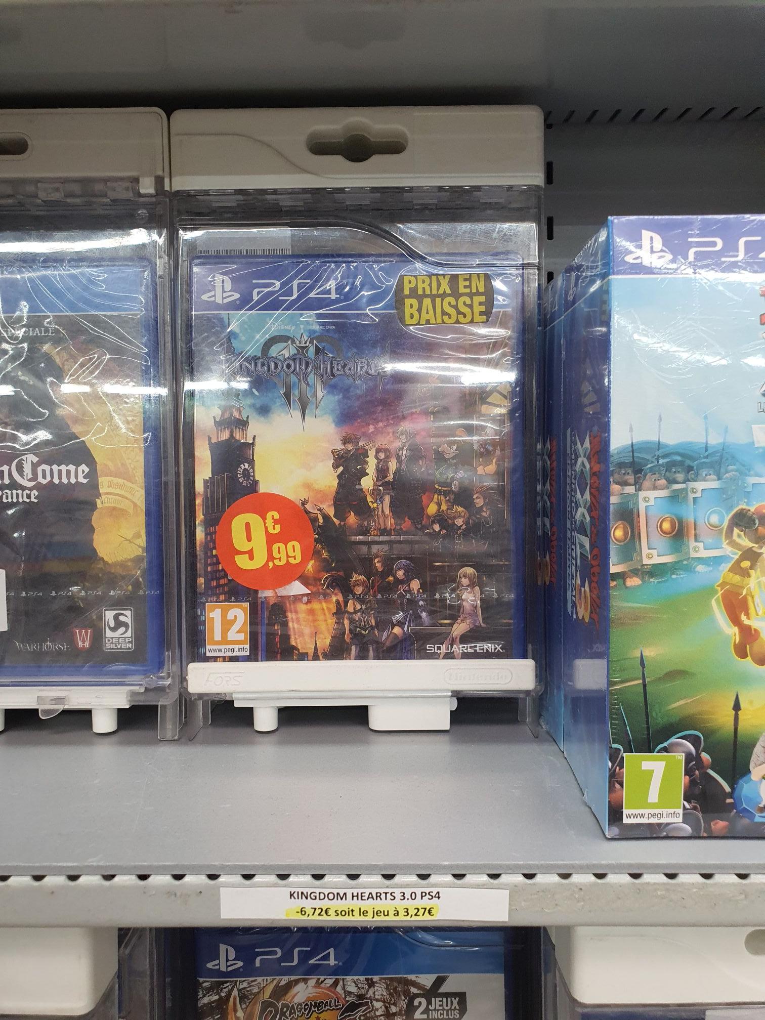 Kingdom Hearts 3 sur PS4 - Bollene (84)
