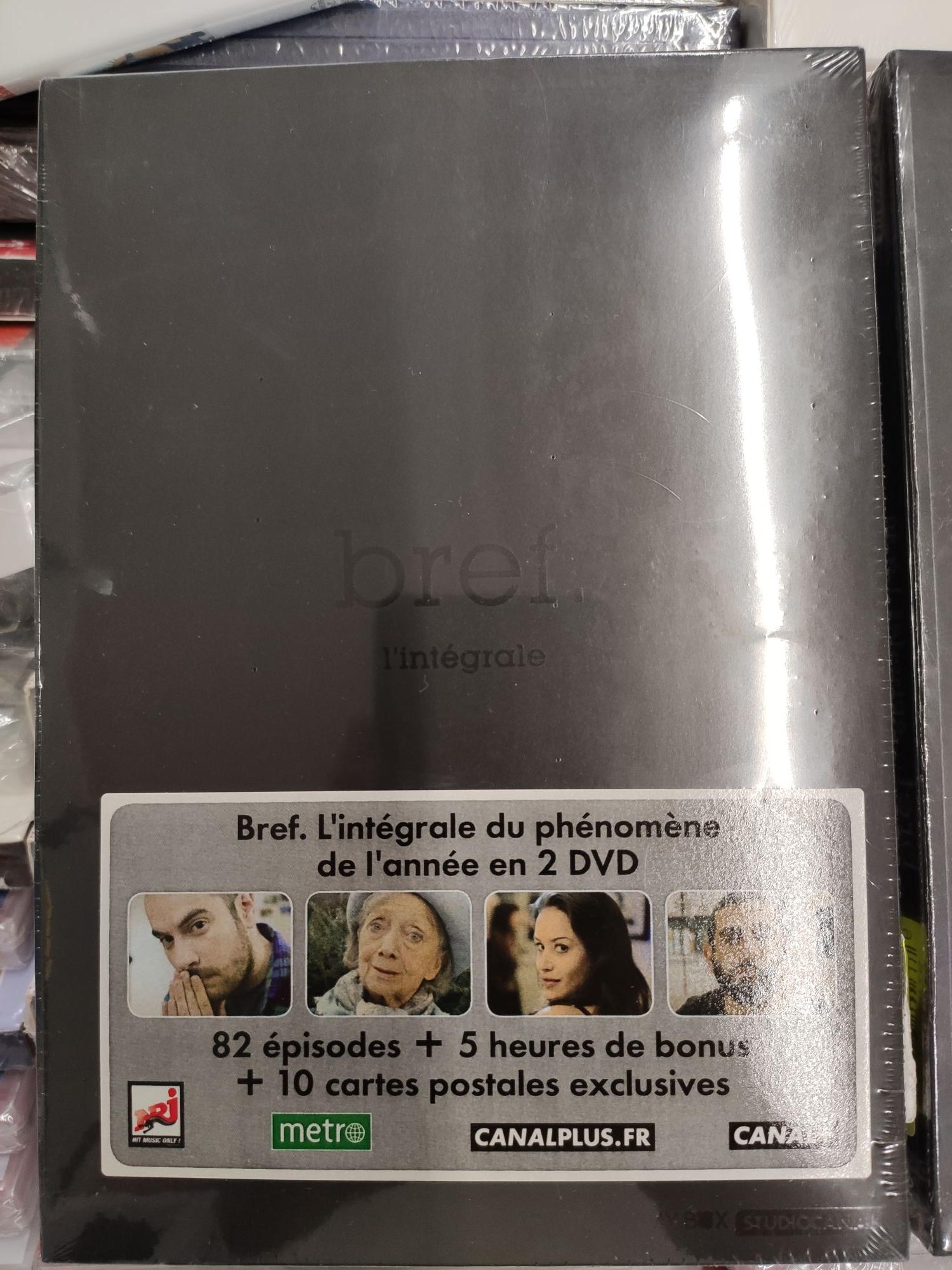 Coffret DVD Bref. - L'Intégrale - Perrigny (89)
