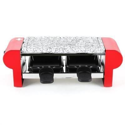 Appareil à Raclette/Pierre à griller Koenig - 2 personnes