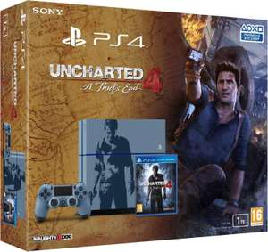 Précommande : Console Sony PS4 1To Uncharted + Jeu Uncharted 4