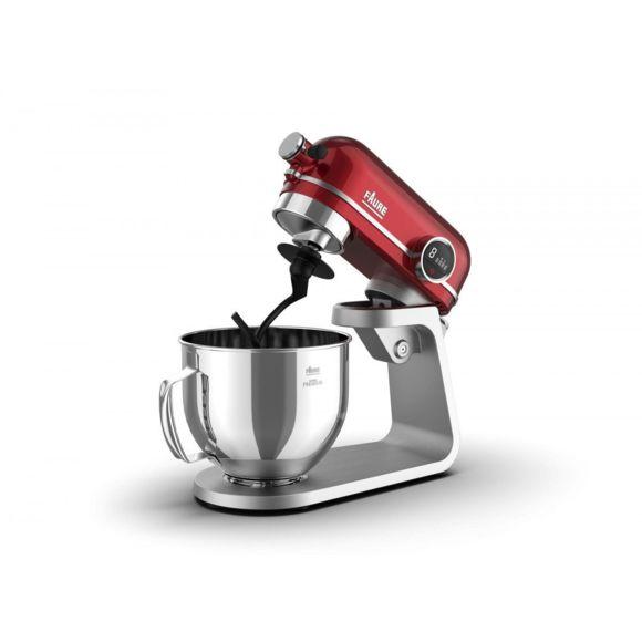 Robot de Cuisine Faure Magic Baker Premium FKM-804MP1 - 800W, Transmission directe, Bol inox 5.2 L, Affichage LCD