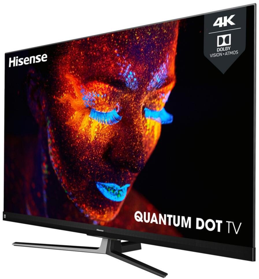 """TV QLED 55"""" Hisense 55U82QF - UHD 4K, 100 Hz, DolbyVision, HDR10+, HDR HLG + 44.95€ en Super Points (via ODR 300€ - vendeur Boulanger)"""