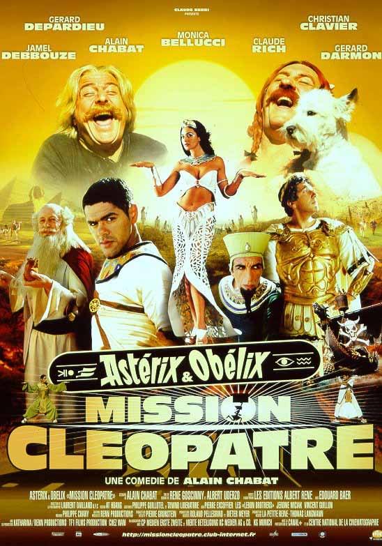Projection gratuite du film Asterix & Obelix : Mission Cléopâtre - Saint Louis (68)