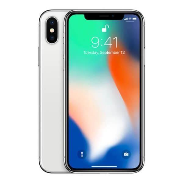 """Smartphone 5.8"""" Apple iPhone X - 64Go (Reconditionné - Vendeur tiers)"""