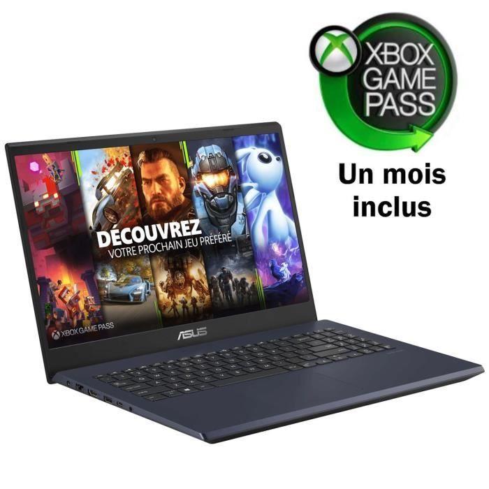 """PC portable 15.6"""" full HD Asus FX571GT-BQ691T (i5-8300H, GTX-1650 4 Go, 8 Go de RAM, 512 Go en SSD, Windows 10) + 1 mois d'Xbox Game Pass"""