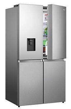 Réfrigérateur multi portes Hisense RQ731N4WI1 - 579L, Ventilé (Via ODR de 200€)
