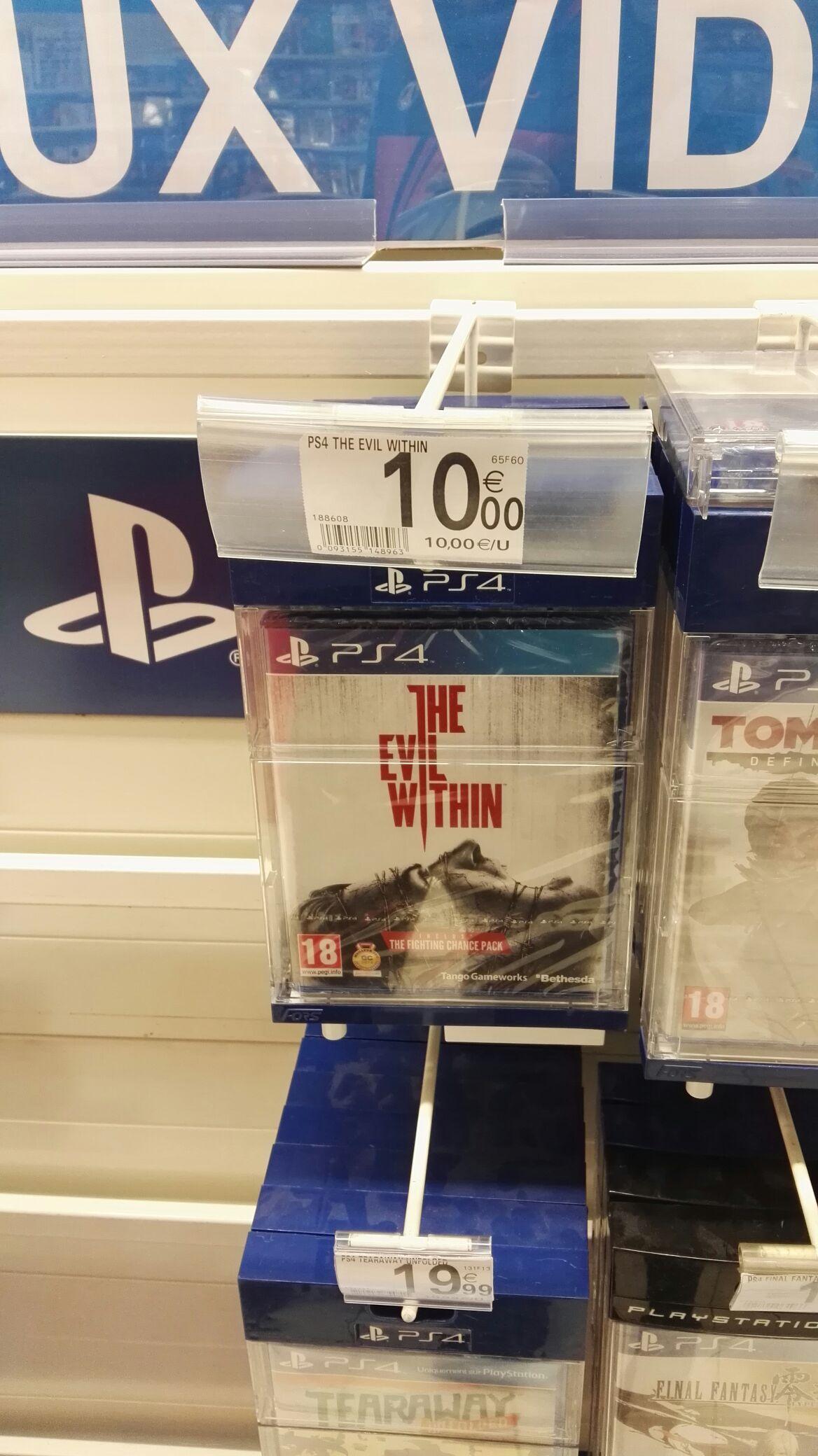 Jeu The Evil Within sur PS4