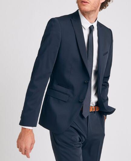 Sélection d'articles en promotion - Ex : Veste de costume slim (Tailles 46 à 58)