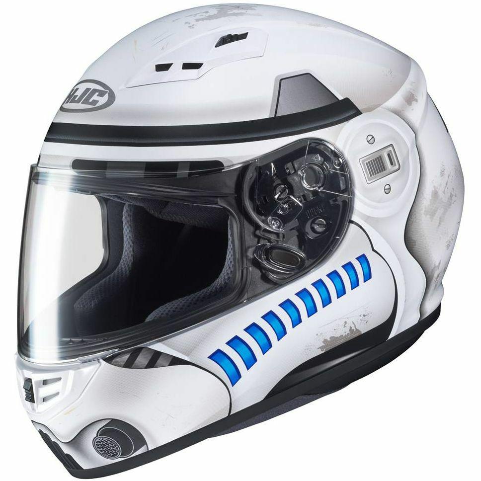 Casque Moto intégral HJC CS-15 Stars Wars Storm Trooper - Du XS au M