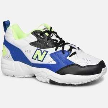 Sneakers New Balance 608 - Blanc/Noir/Jaune (Taille 44 à 45.5)
