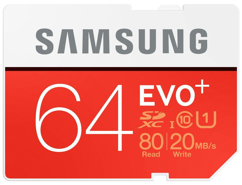 carte mémoire SDXC Samsung Evo Plus UHS-I - 64Go