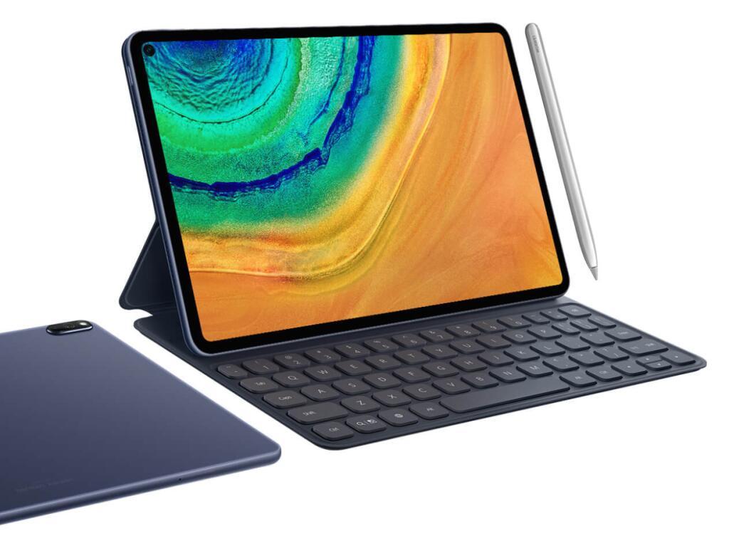 "Tablette 10.8"" Huawei MatePad Pro (6 Go RAM, 128 Go, Kirin 990, sans services Google) + Stylet + Folio clavier"