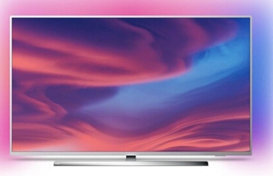 "TV 50"" Philips 50PUS7354 - 4K UHD, Ambilight 3 côtés, Android TV"