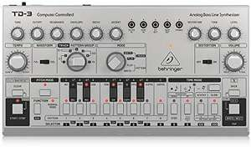 Synthétiseur de ligne de basse analogique Behringer TD-3-SR