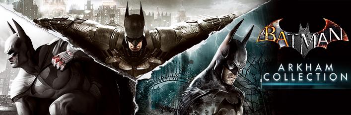 Jeux Batman : Arkham Collection sur PC (Dématerialisé - Steam)