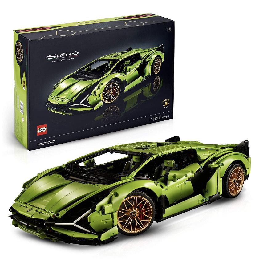 Jeu de construction Lego Technic - Lamborghini Sián FKP 37 (42115)