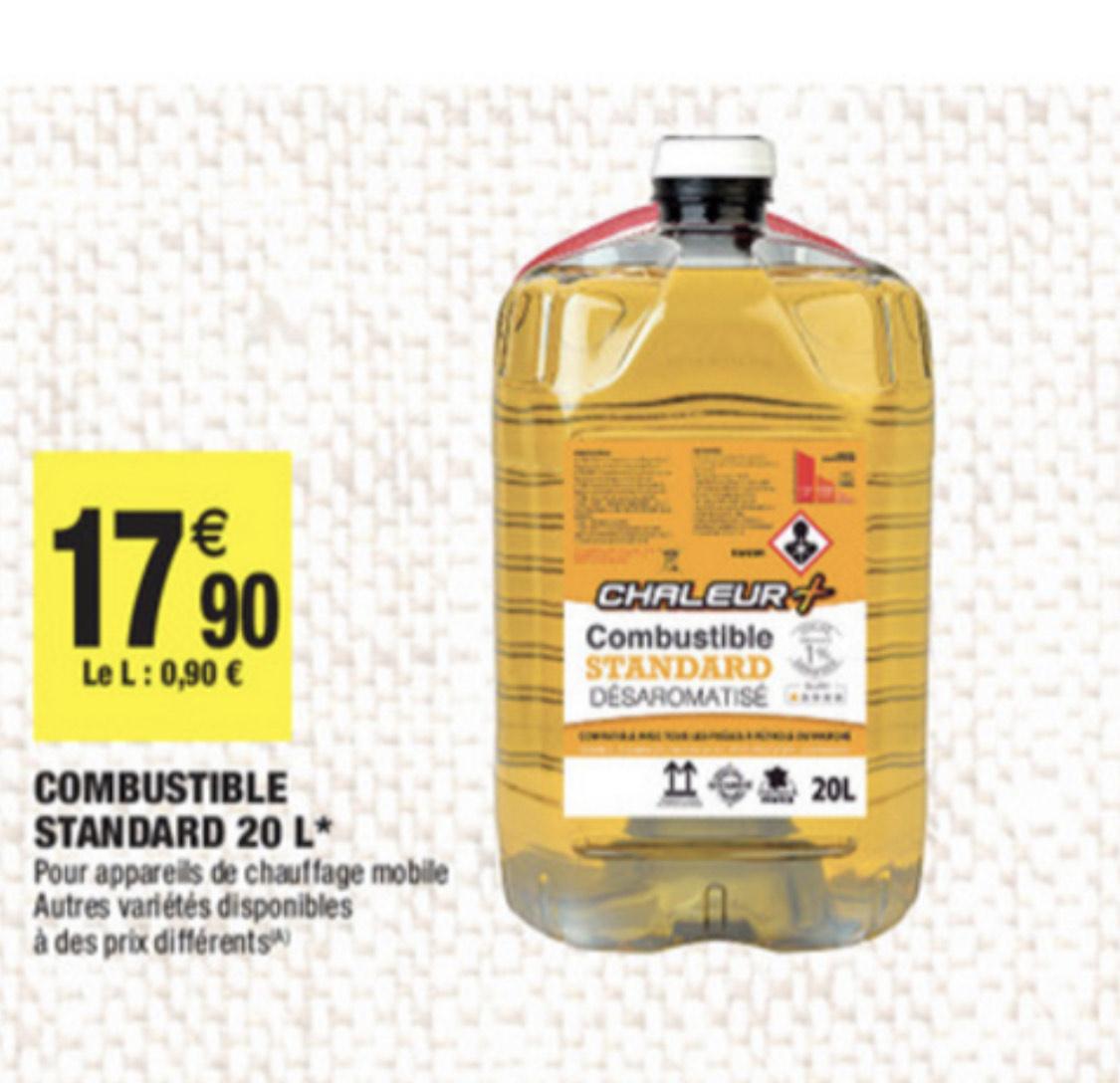 Bidon de combustible pétrole - 20L