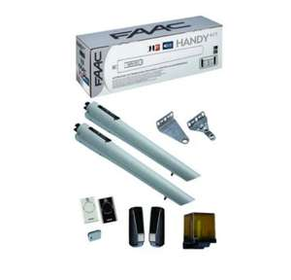 Motorisation portail battant Faac Handy Kit Integral 105998144