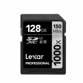 Carte mémoire SDXC Lexar Professional - 128Go, 1000x, UHS-II