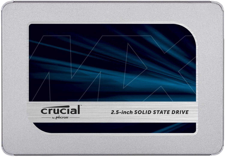 "SSD interne 2.5"" Crucial MX500 (TLC 3D, DRAM) - 1 To"
