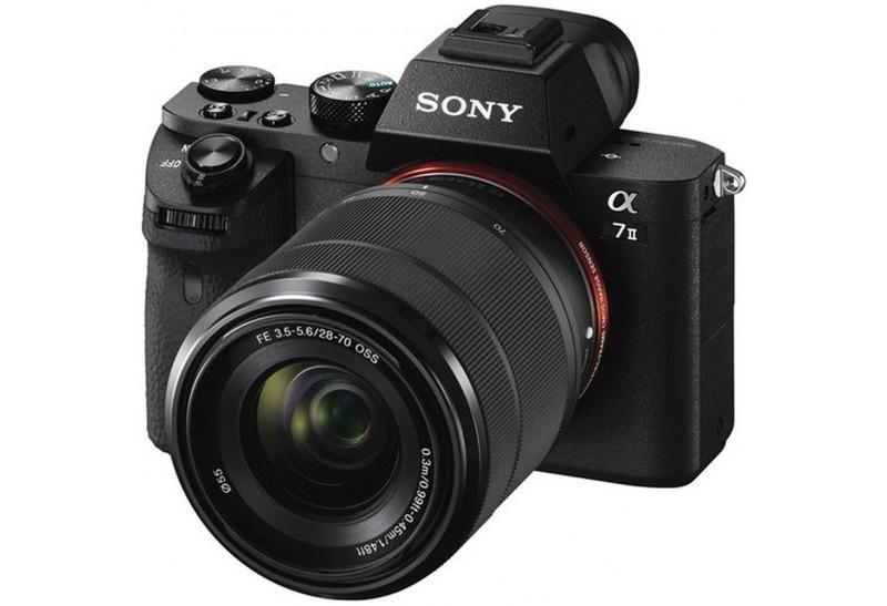 Appareil photo hybride Sony Alpha A7 II (Monture E) + Objectif 28-70 mm