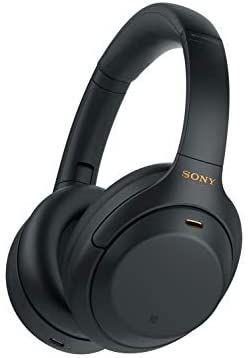 Casque audio Sony WH-1000XM4 - Bluetooth, Noir, à réduction de bruit