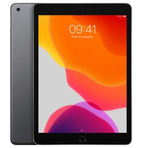 "Tablette 10.2"" Apple iPad 7 2019 - 32 Go, Gris (283.88€ via RAKUTEN30 - +31.39€ en SuperPoints)"
