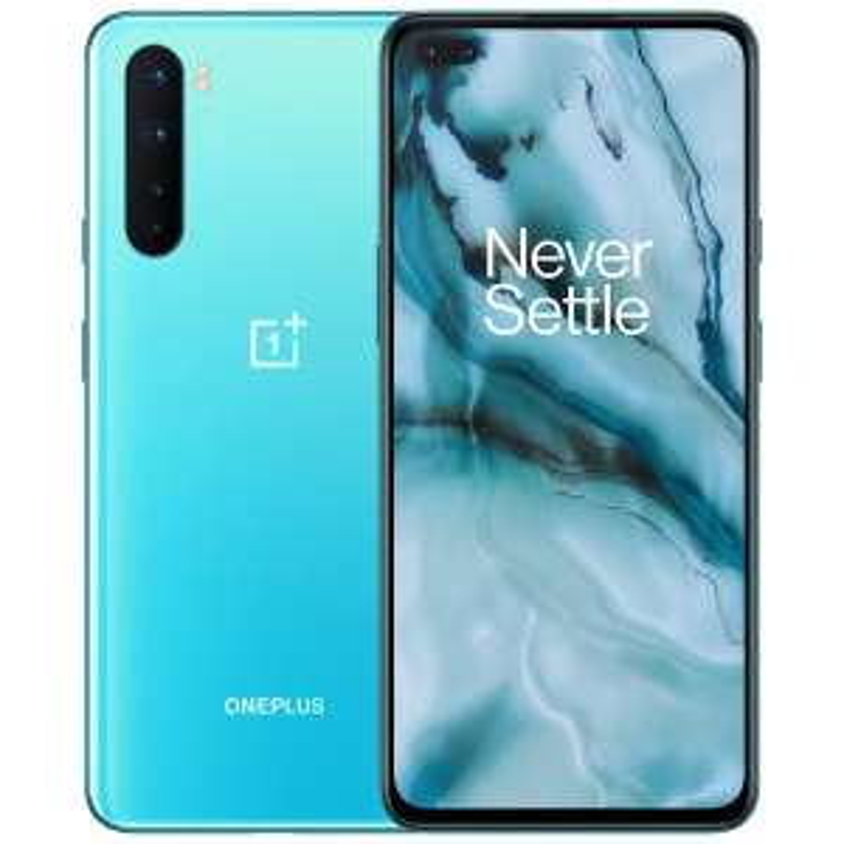 "Smartphone 6.44"" OnePlus Nord - 5G, Full HD+ 90 Hz, Snapdragon 765G, RAM 8 Go, 128 Go, Bleu (335.99€ avec RAKUTEN30 +36.60€ en SuperPoints)"