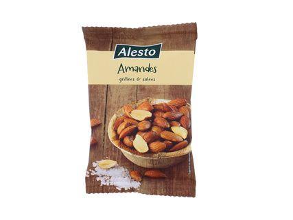 Sachet d'amandes grillées et salées Alesto (150 g)