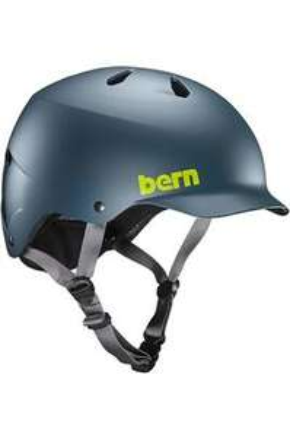 Casque vélo Bern Watts EPS Matte Muted Teal + 6 autocollants
