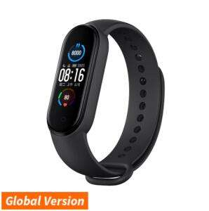 Bracelet connecté Xiaomi Mi Band 5 - Version Globale, Noir
