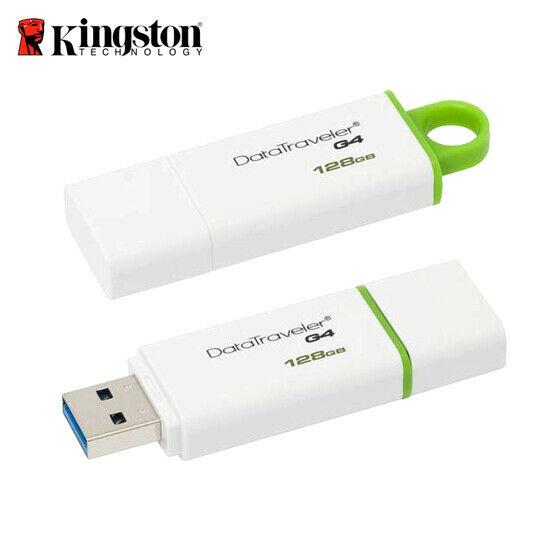 Clé USB 3.0 Kingston G4 DataTraveler - 128 Go