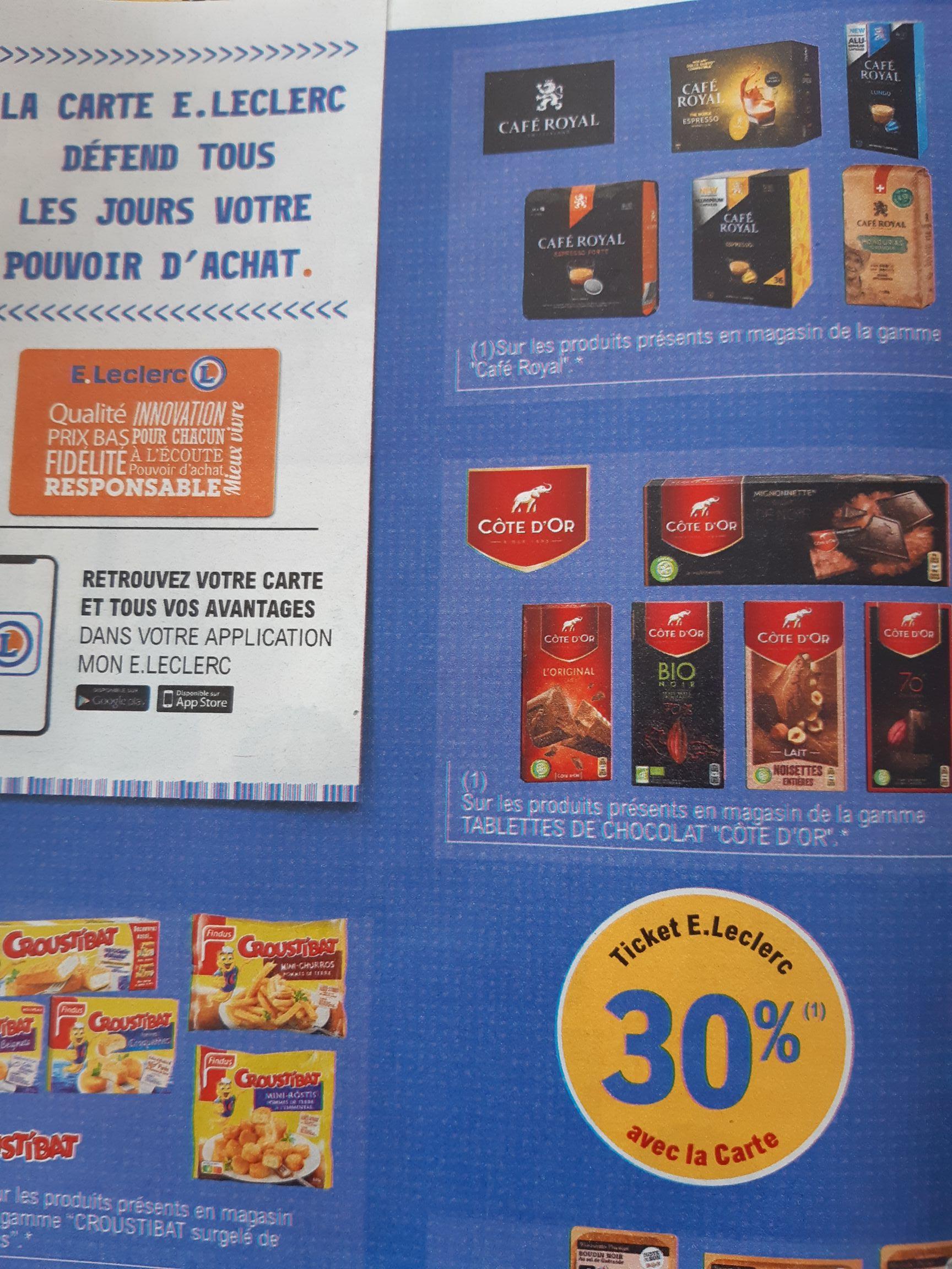 Sélection de capsules de Café Royal DolceGusto en promo (via 30% fidélité + Shopmium) - Ex: 3 boîtes The Noble Espresso (via 2.95€ fidélité)