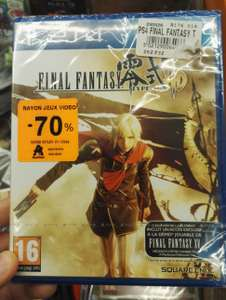 Final fantasy type 0 HD sur PS4