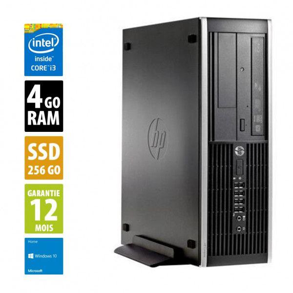 Pc de bureau hp compaq 6200 Pro SFF - Intel Core i3-2100, 4 Go de RAM, SSD 256 Go , Windows 10