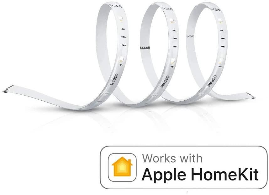 Bande LED Bluetooth Osram Smart+ - 1.8m, Compatible avec Apple HomeKit et Android (Vendeur tiers)