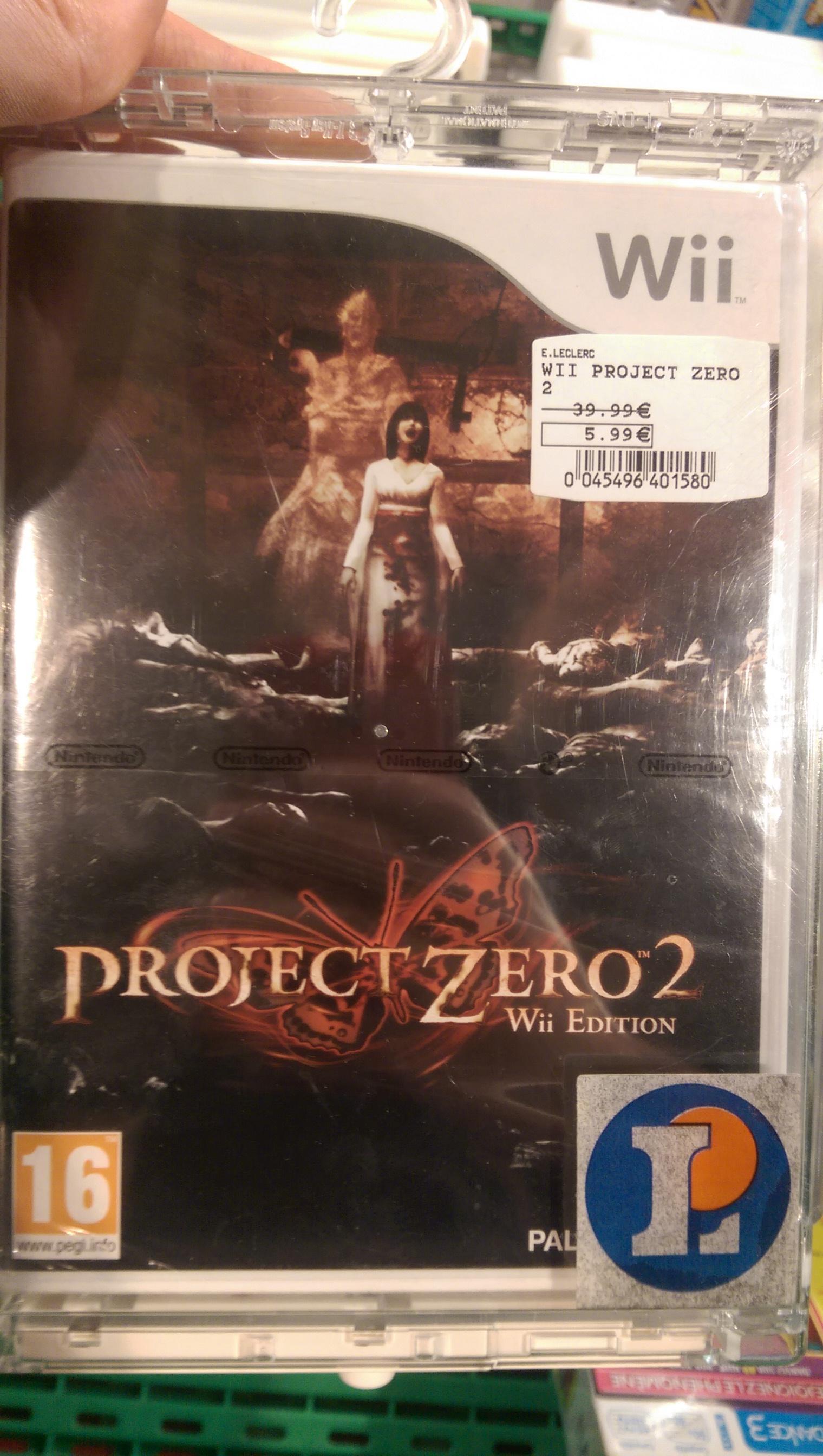 Jeu Project Zero 2 sur Wii