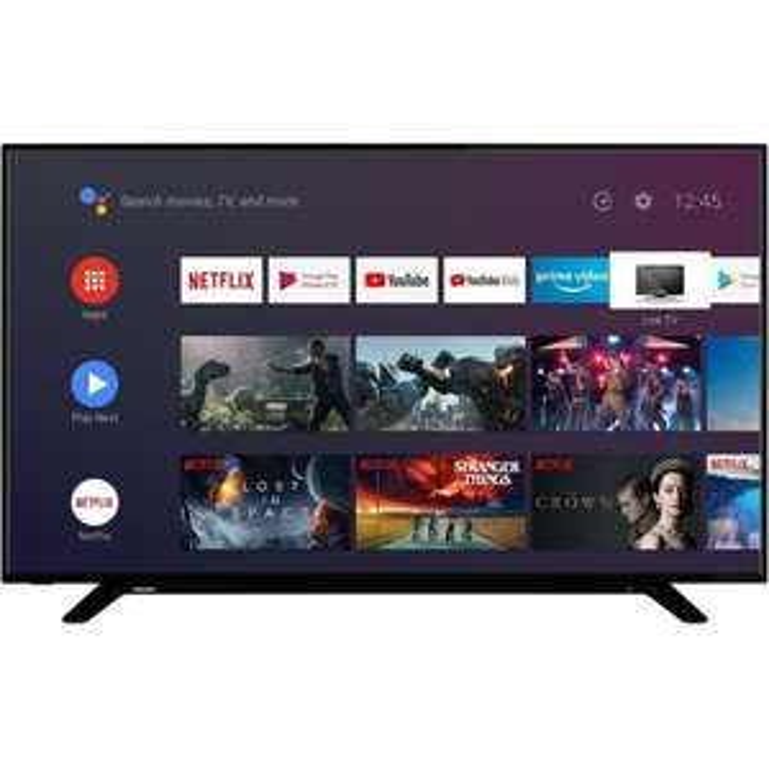 TV LED 43'' Toshiba 43UA2063DG - 4K UHD, Dolby Vision, Android TV, Classe énergétique A+
