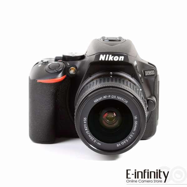 Appareil photo Nikon D5600 Digital SLR + Objectif AF-P DX Nikkor 18-55mm f/3.5-5.6G VR (e-infin.com)