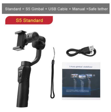 Stabilisateur Keelead Gimbal S5 - Standard pour Smartphone - 3 axes