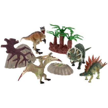 Set de jeu Dinosaure - 7 pièces