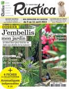 Un numéro du magazine RUSTICA (jardinage)  offert