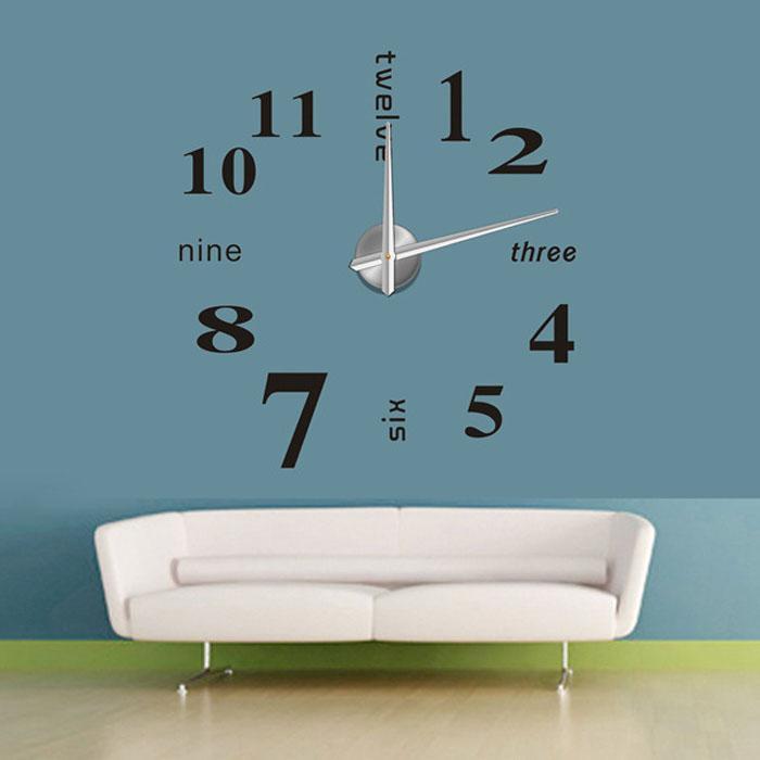 Horloge murale Sticker Decor