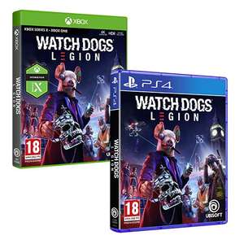 [Précommande] Watch Dogs Legion sur PS4, Xbox One + 10€ en bon d'achat (à utiliser dès 20€ d'achat sur les jeux vidéo)