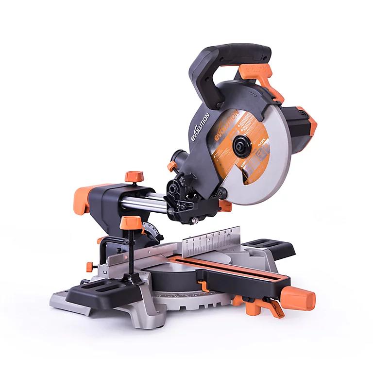 Scie à onglet radiale Evolution R210SMS 210 mm