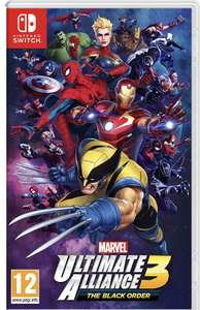 Marvel Ultimate Alliance 3 : The Black Order sur Nintendo Switch