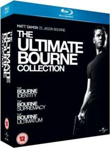 Coffret Blu-ray Trilogie The Ultimate Bourne Collection