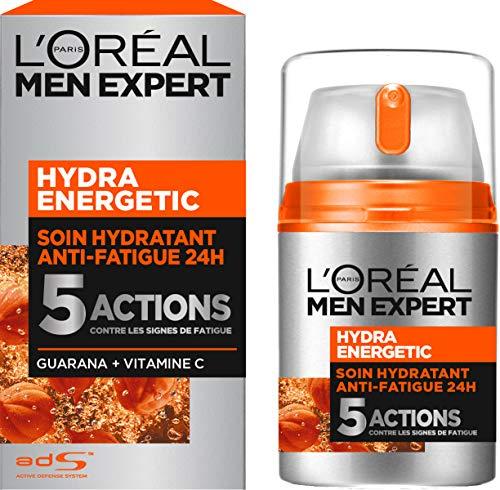 Gel hydratant maxi-désaltérant L'Oréal Men Expert Hydra Energetic - 50 ml