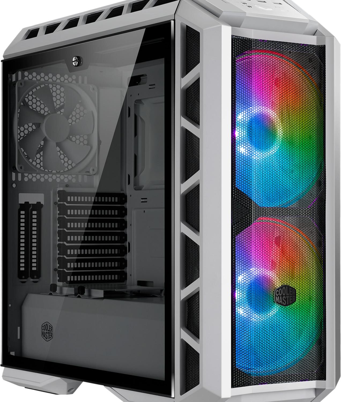 Boîtier PC CoolerMaster MasterCase H500P Mesh ARGB - blanc