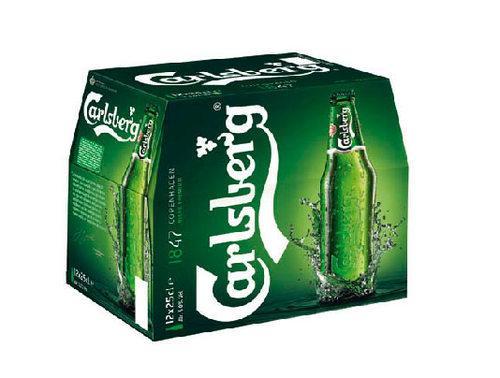 Pack de bières Carlsberg 12 x 25cl